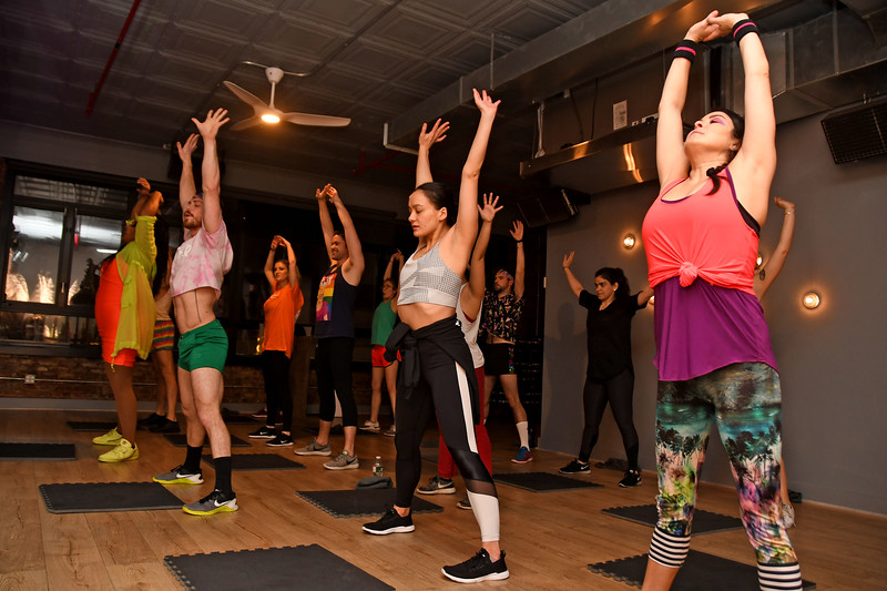 """The Launch of """"WERK OUT"""" at the Ness in New York City"""