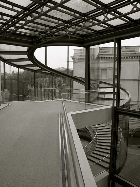 part of the I.M.Pei addition to the Deutsces Historisches Museum