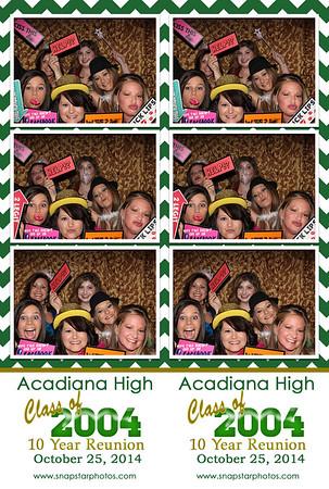 2014-10-25 Acadiana High 2004 Reunion