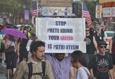 Charlottesville Solidarity March - Denver,Co 8/13/17
