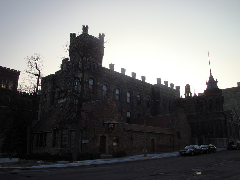 Visitor's Center and corp. offices of the former Pabst Brewery. Most buildings have been torn down.