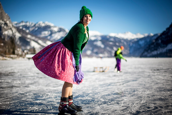 Dirndl on Ice