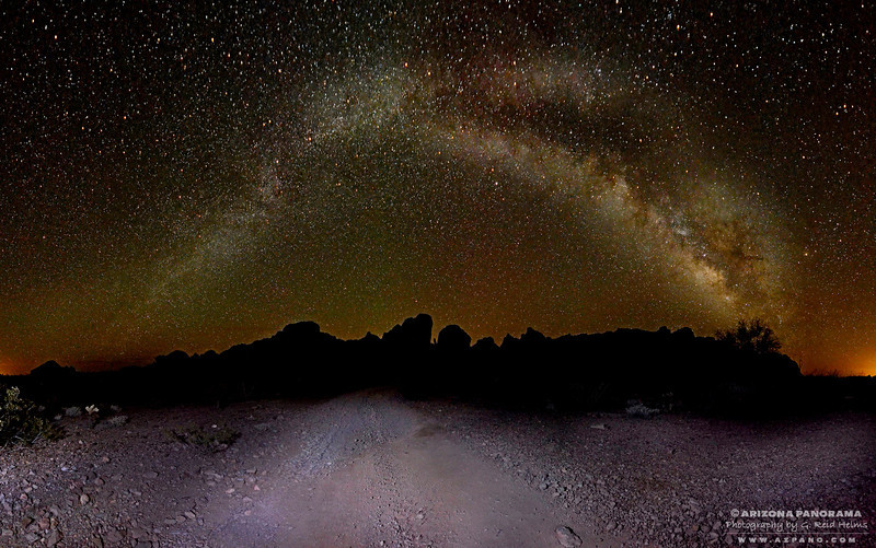 The Road to the Milky Way