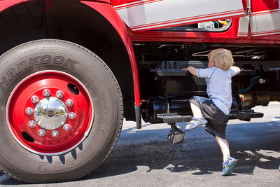 Guy and the Firetruck
