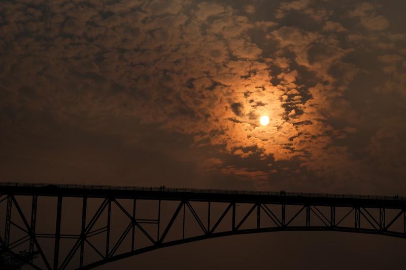Deception Pass Sun over Bridge.JPG