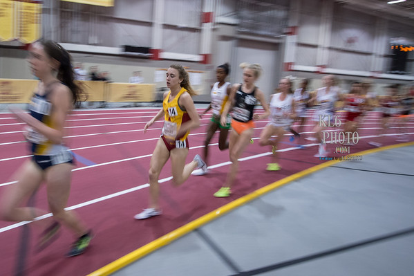 Big12 Indoor Championship 2017 (ISU)