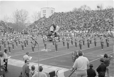Football WVU vs Pitt 1975