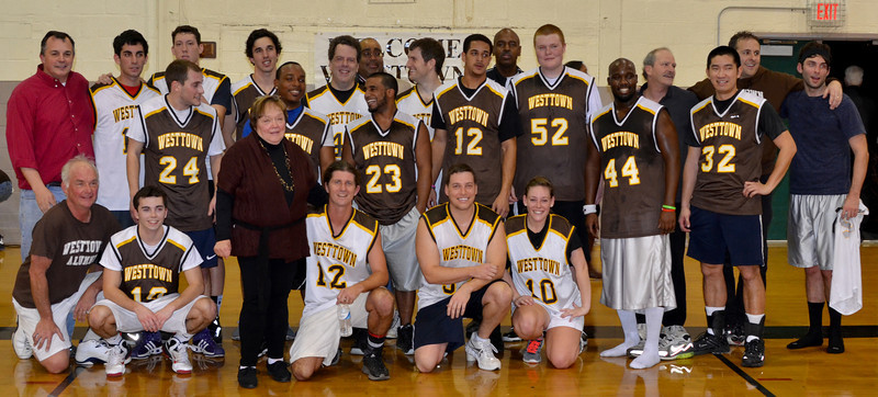 2013-01-12 Alumni Basketball Game