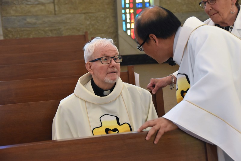 Fr. Paul and Fr. Quang