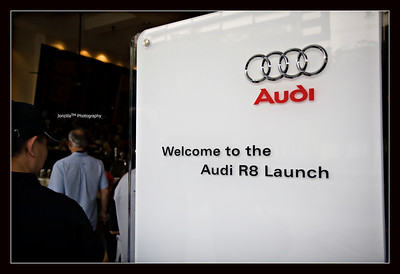 Launch of the Audi R8 at Marriott Hotel + Historic Flag Off