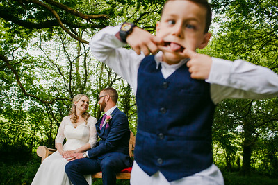 Katie and Paul at Millbrook Estate