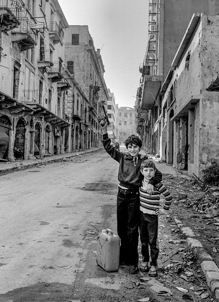 After the bombs - Beirut 1982