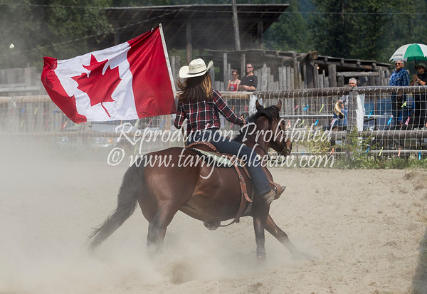 Rodeo - Lillooet Lake - Mt Currie, August 2017