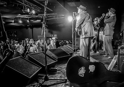 The Broadkasters, Rhythm Riot, 2015 in Black n White
