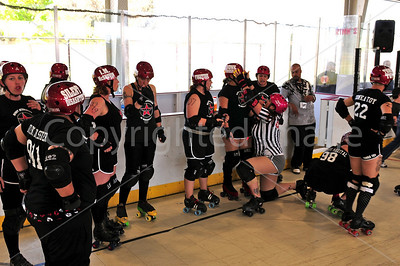 Day 2 - Derby Revolution of Bakersfield vs Santa Cruz Derby Girls