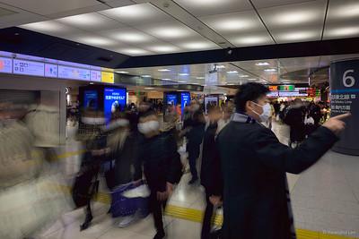 Japan 2020 - a time for masks