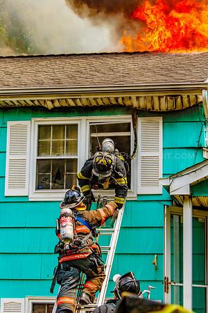 Structure Fire - 25 Hewlett Rd. - City of Poughkeepsie Fire Department - 5/26/16