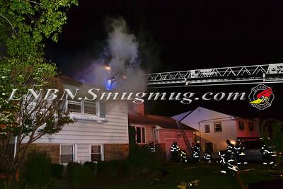 Massapequa F.D. House Fire 116 Fox Blvd. 6-23-14