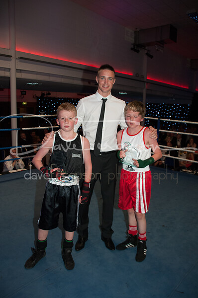 EEIBA- Boxing Night, Corn Exchange, Edinburgh. May 2012
