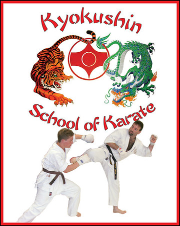 Kyokushin Karate including Matthew Lappin's Blackbelt Ranking