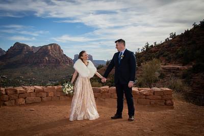 Laurie & Wayne's Sedona Wedding