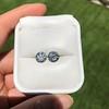 4.08ctw Old European Cut Diamond Pair, GIA I VS2, I SI1 69