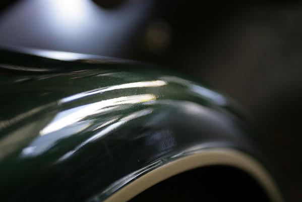 Green Peterbilt Semi
