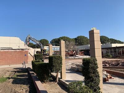 2019: Campus Center Demolition