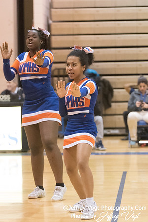 1/16/2018 Watkins Mill HS Varsity Cheerleading, Photos by Jeffrey Vogt Photography