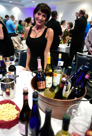 3/23/2019 Mike Orazzi | Staff Worldwide Wines' Andrea Montaro during the Bristol Hospital Development Foundation's annual Festival of Wine and Spirits held at the DoubleTree by Hilton Hotel in Bristol Saturday night.