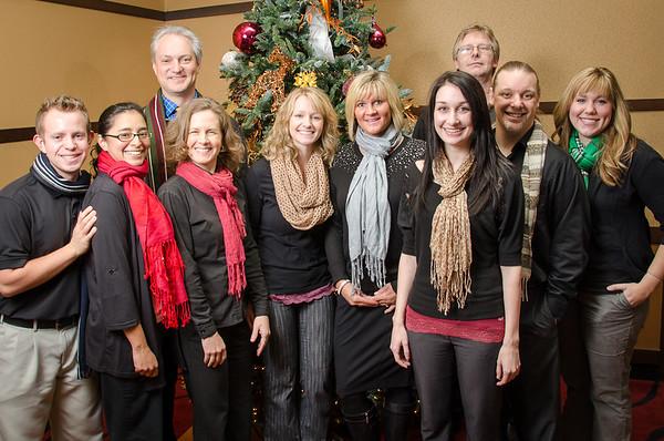 Clinic Christmas Photos 2012