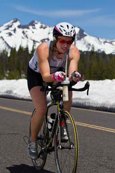 Gina's Pacific Crest Half-Ironman