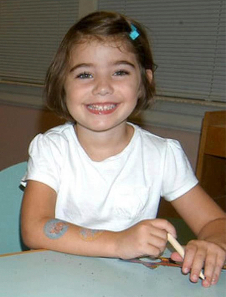 Description of . An undated handout photo featured on a Facebook memorial site shows Caroline Previdi. Previdi was one of 20 children killed at a Connecticut elementary school on Friday in one of the worst mass shootings in U.S. history were all aged six and seven. REUTERS/Facebook/Handout