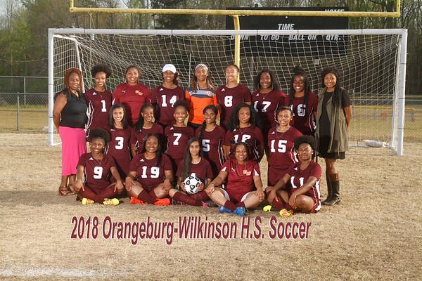 2018 Soccer Girls Varsity