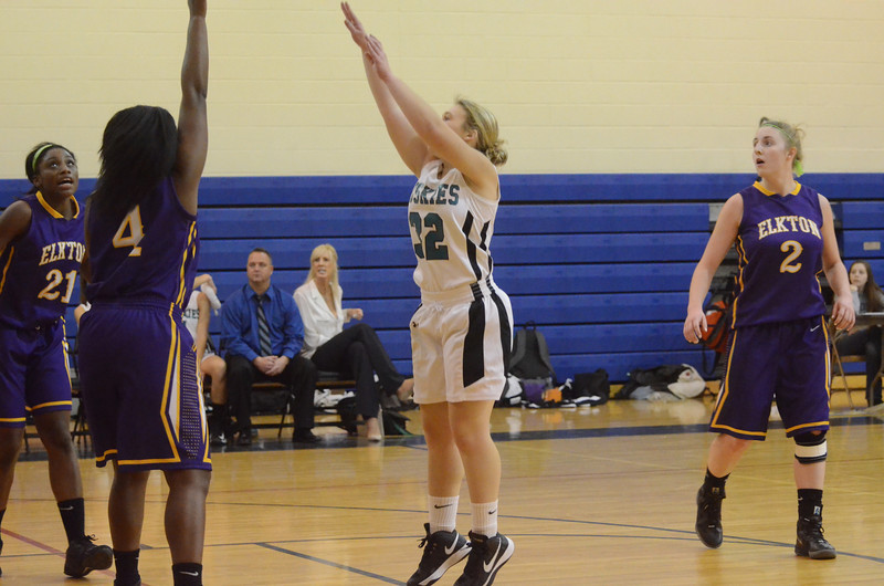 Girls Varsity Basketball December 19 vs Elkton