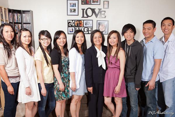 Huynh Family 4/8/12