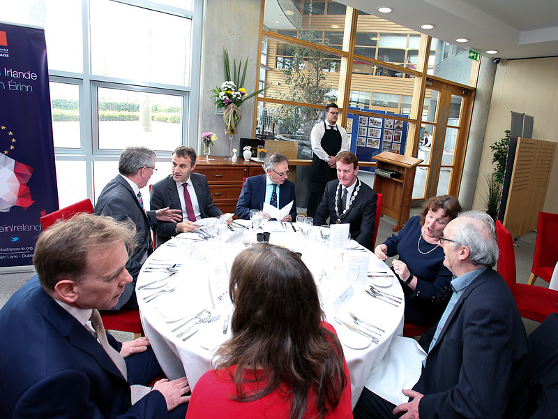 240    French Ambassador to Ireland at WIT    Photos George Goulding   WIT  10 04 2019   .jpg