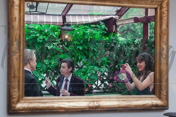 Victoria and Ian - Mark's Club Mayfair