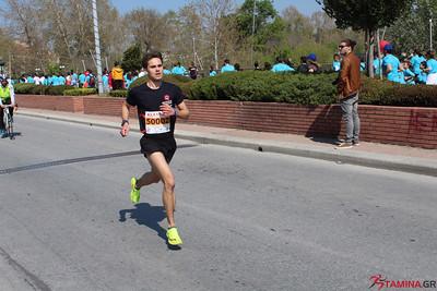 5000m πριν τον τερματισμό