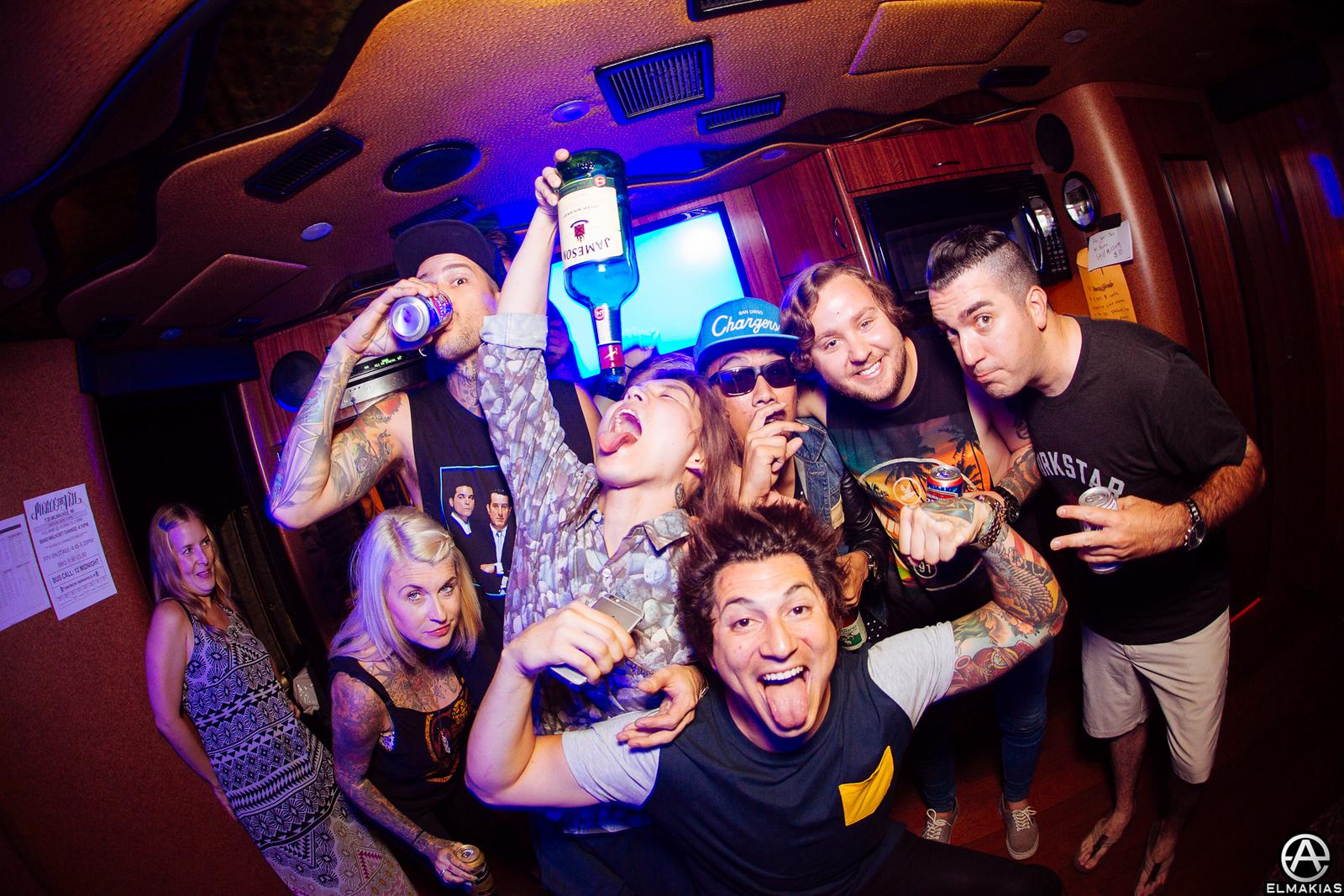 Party Bus at Warped Tour 2015 by Adam Elmakias