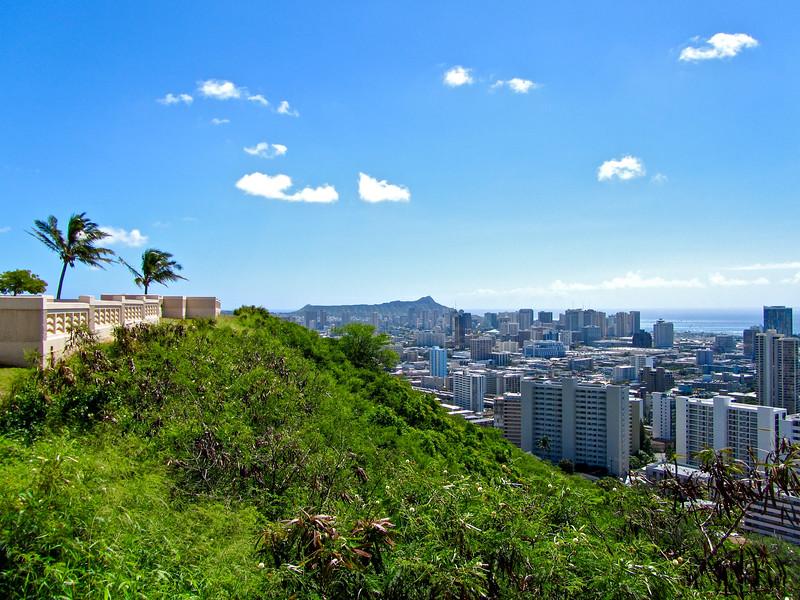 View of Honolulu, Hawaii