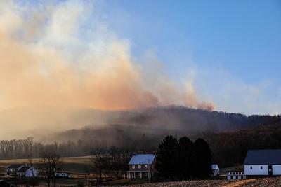 Mountain Fire: Camp Tuckahoe 3-14-2021