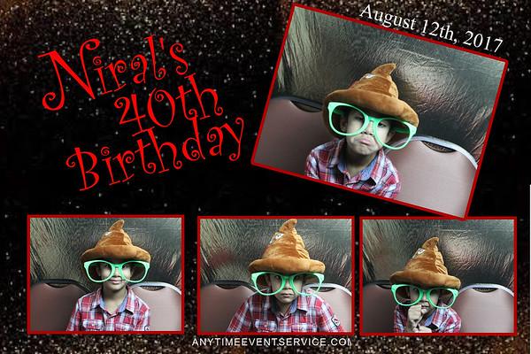 Niral's 40th Birthday