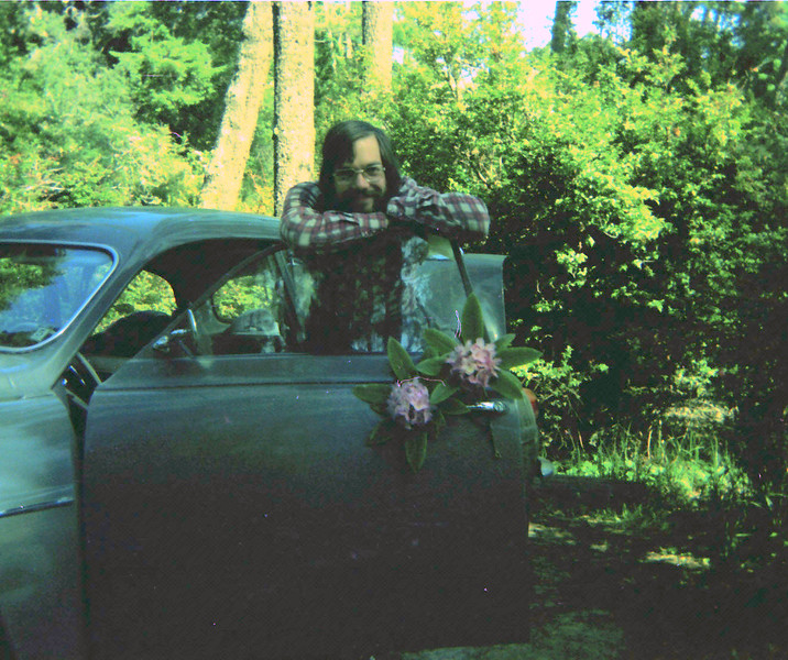 Rhododendrons and Saab.jpg