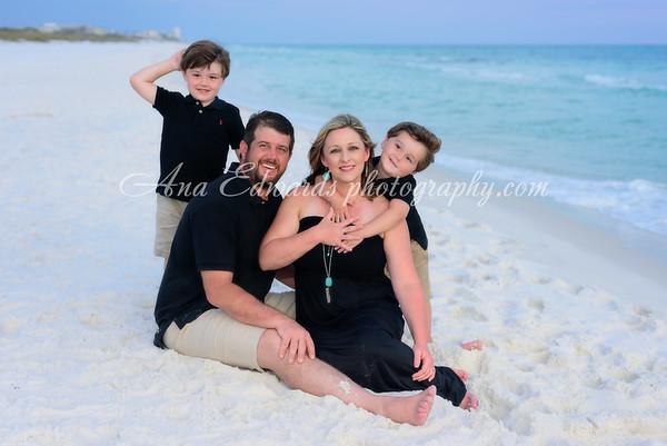The Coxwell family 2019  |  Grayton Beach