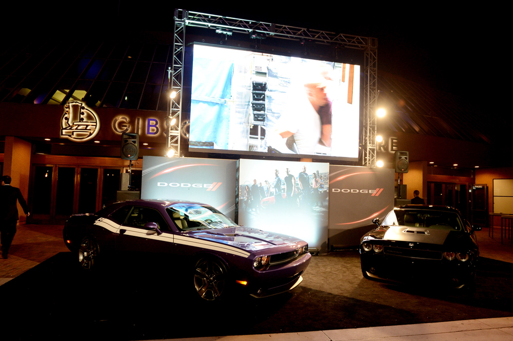 """. A general view is shown at the after party for the premiere of Universal Pictures\' \""""Fast & Furious 6\"""" at the Gibson Amphitheatre on May 21, 2013 in Universal City, California.  (Photo by Kevin Winter/Getty Images)"""