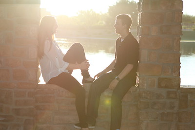 Spencer and Paige - Engagement Pics 9-11-13