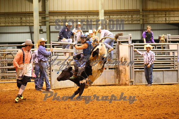Steer Wrestling & Bull Riding