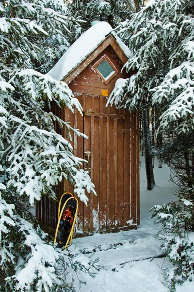 Bécosse en hiver - Parc National du Mont Mégantic