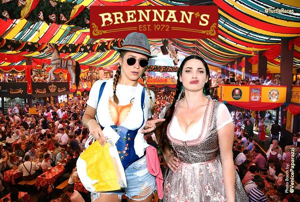 2018 Brennan's Oktoberfest Photo Booth.  www.BrennansLA.com